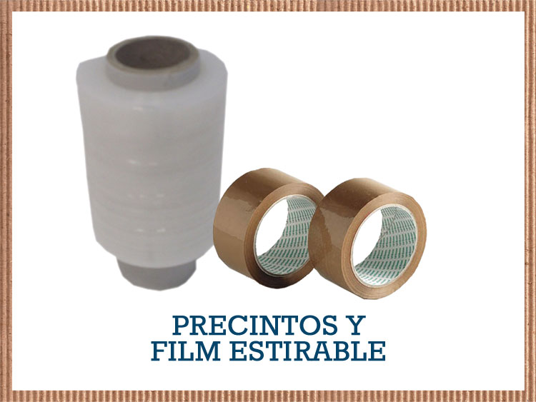 precintos y film estirable